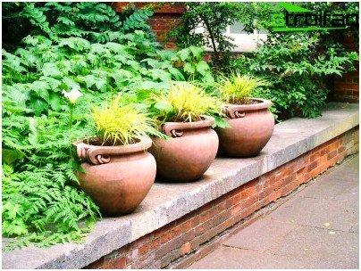material flowerpot