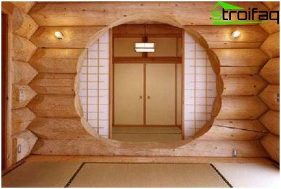 Sauna wood - interior
