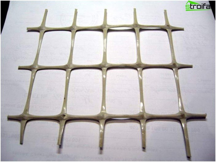 Mesh for reinforcement of concrete floors