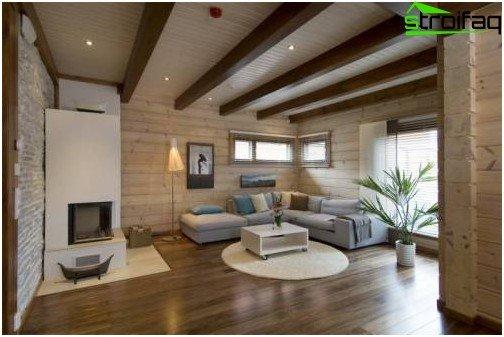 D le it mi aspektmi ma ovanie stropu s rukami met dy for V shaped living room