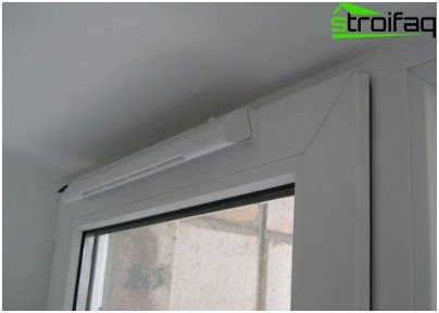 Supply window flap