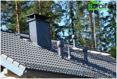 Appointment of roof penetrations