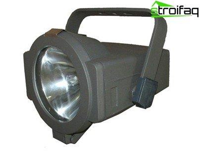металогалогеном прожектор