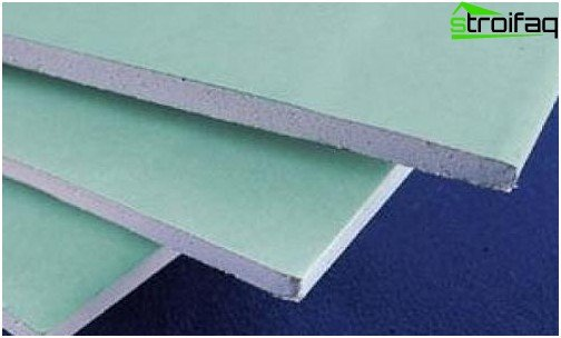 Moisture resistant plasterboard for walls leveling