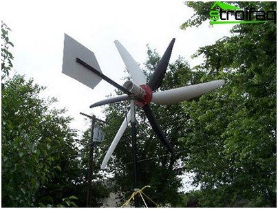 Wind turbine with his own hands