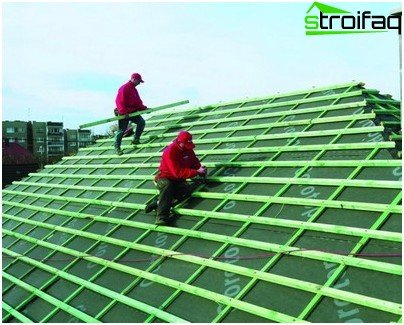 Waterproofing roof metallocherepichnoy