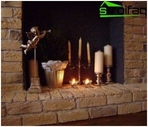 Decorations for fireplace