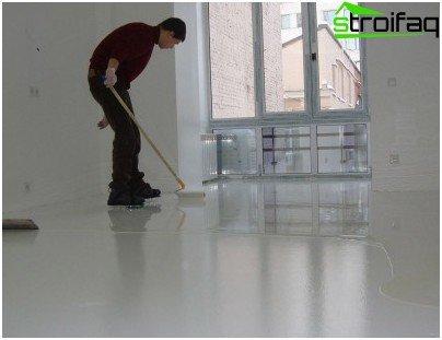 Ground floor filler