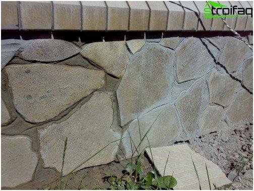Facing naturstein