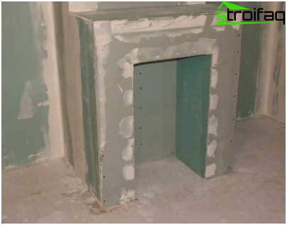 Mounting boxes made of plasterboard