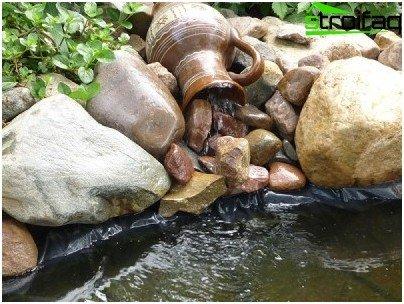 Come Fare Una Cascata In Giardino.Istruzioni Per La Creazione Di Una Cascata Nel Paese Con Le Proprie Mani