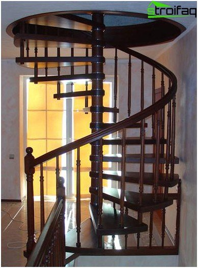 A spiral modular staircase - as art