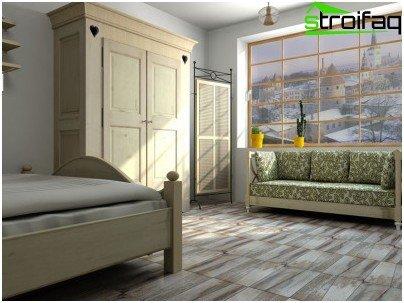 Same floor tiles