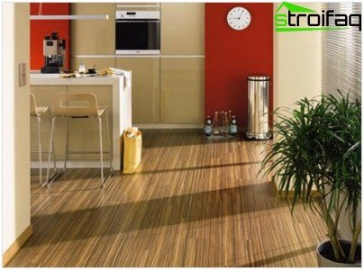 Features of the laminate of choice for kitchens