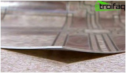 Choosing the type of linoleum