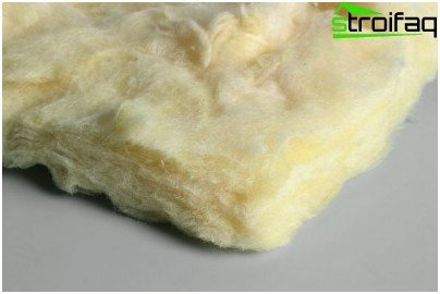 Democratic insulation for floors - glass wool