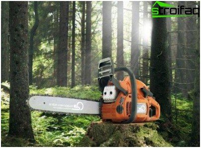 selection of chainsaw