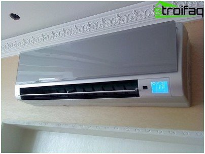 Choosing air conditioning for home: wall-mounted version