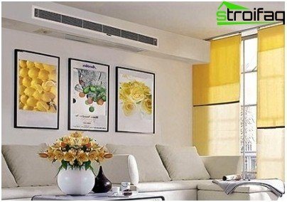 Ducted air conditioning for homes