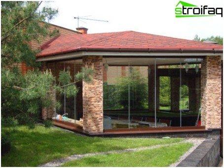 glazed verandas