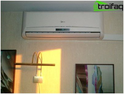 Domestic air conditioners, wall, ceiling