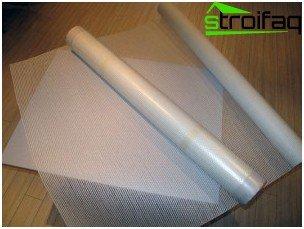 Wallpapers of fiberglass