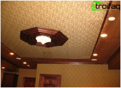 The choice of the tension ceiling - a serious matter