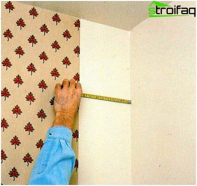 As wallpaper glue in the inner corners