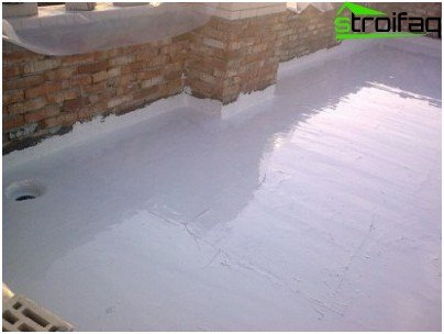Waterproofing of the foundations