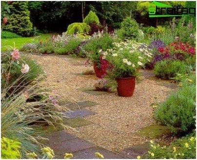 Hoe de woestenij van grind tuin verheffen - Tuin grind decoratief ...