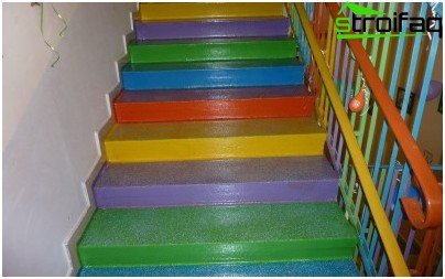 C mo pintar una escalera de madera la tecnolog a de la - Como pintar una escalera interior ...
