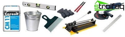 Tools for laying tile