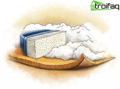 Carpet cleaning foam