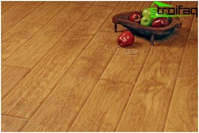 Cost-strong laminate floor