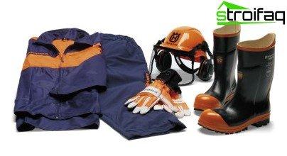 protective uniforms