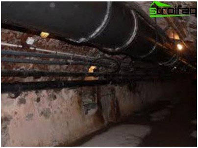 How to run a cable in the sewers