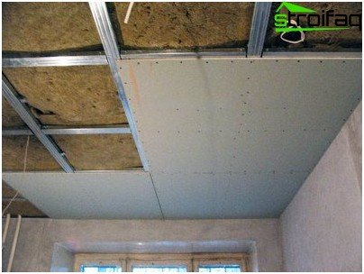 Soundproofing ceiling plasterboard