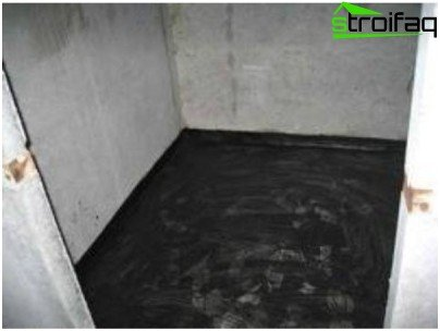 Obmazochnaya floor waterproofing