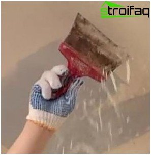 How to clean the ceiling of whitewash