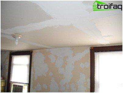 Align ceilings plywood