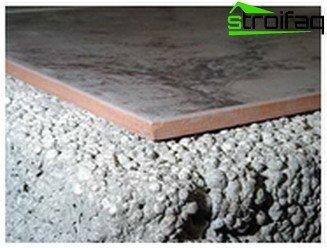 Beton Fußboden Isolieren ~ Wie der boden im bad zu isolieren: wie eine isolierung aus beton und