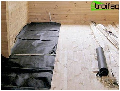 How to insulate floor bath