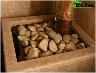 Stones for sauna