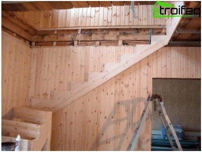 Construction kosuora for stairway