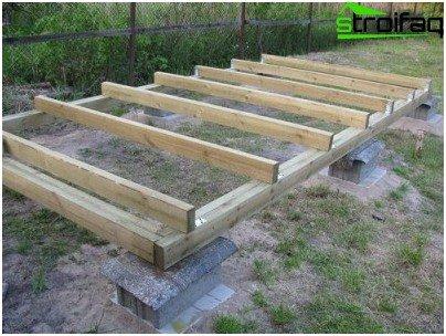 installation of foundations
