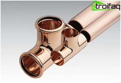 The use of copper in heating systems