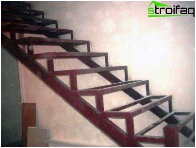 Escaleras met licas ejemplos del dise o y la tecnolog a for Como trazar una escalera de metal