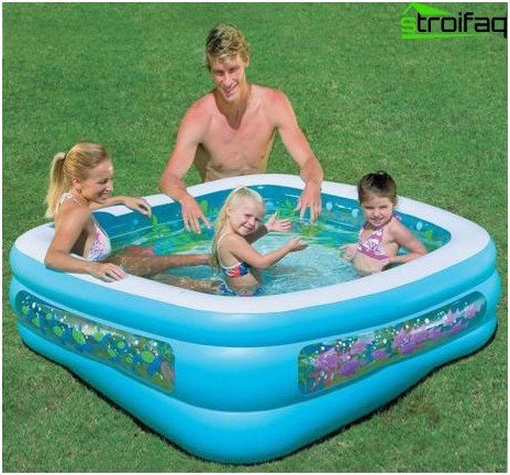 Pool for children and adults