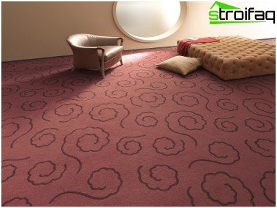 Ковролінове підлогове покриття