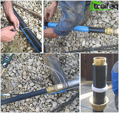 Mounting borehole pump